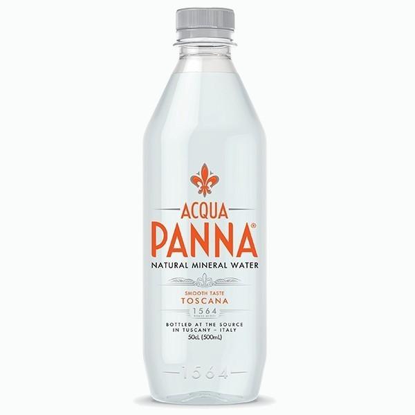 acqua panna mineralnaya negazirovannaya voda 0.5 l