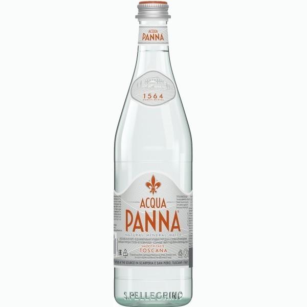 acqua panna mineralnaya negazirovannaya voda 0.75 l