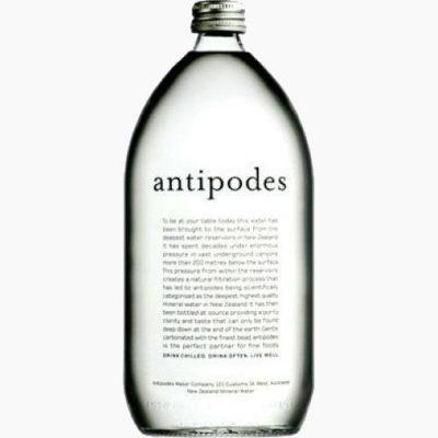 Antipodes, минеральная вода без газа, 1.0 л.