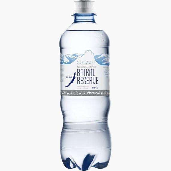 baikal reserve mineralnaja voda s gazom 0.5 l. 1