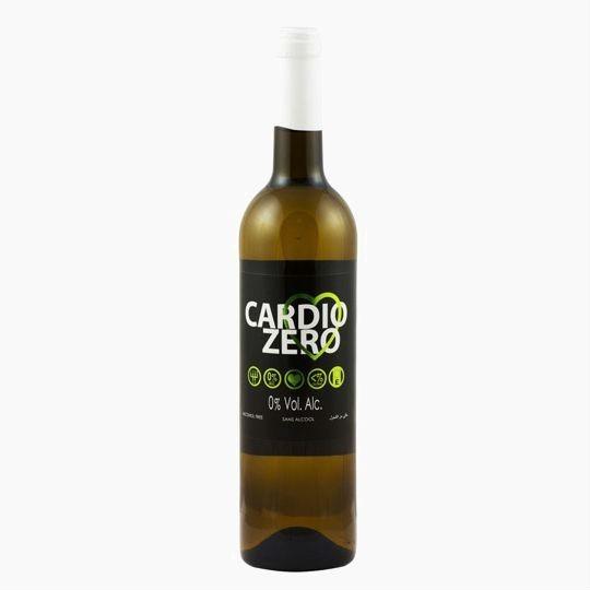 Cardio Zero, безалкогольное белое вино, 0.75 л.
