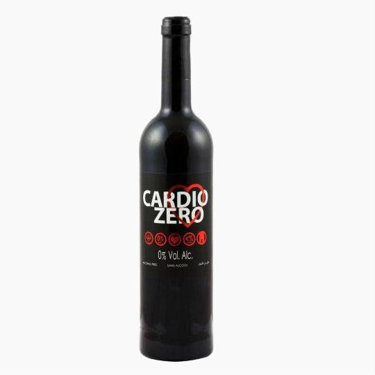 Cardio Zero, безалкогольное красное вино, 0.75 л.