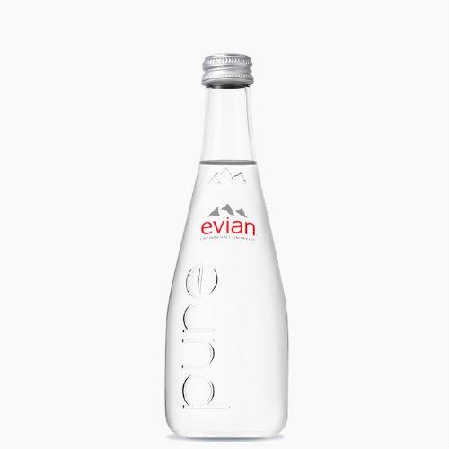 Evian (Эвиан), минеральная вода без газа, 0.33 л., ст.