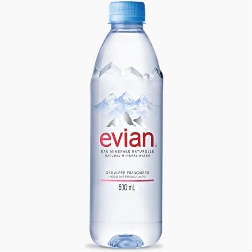 evian jevian mineralnaja voda bez gaza 0.5 l.