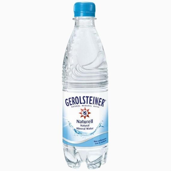 gerolsteiner naturel voda bez gaza 0.5 l