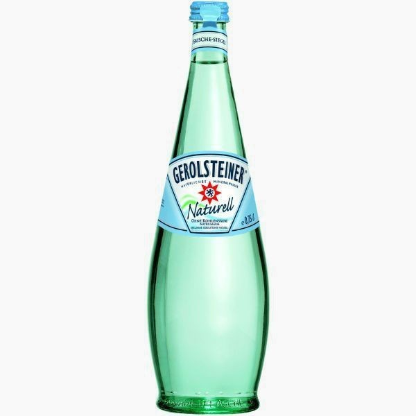 gerolsteiner naturel voda bez gaza 0.75 l