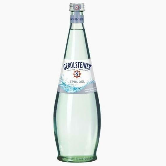 Gerolsteiner Шпрудель, вода газированная, 0.75 л.