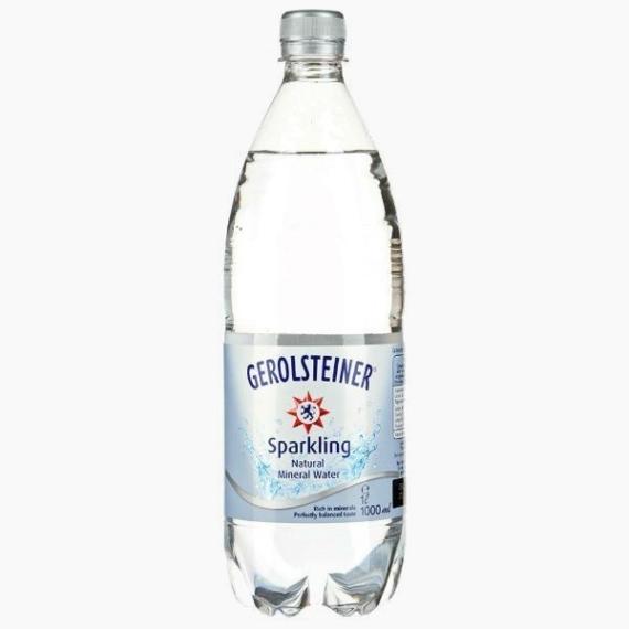 Gerolsteiner Шпрудель, вода газированная, 1.0 л