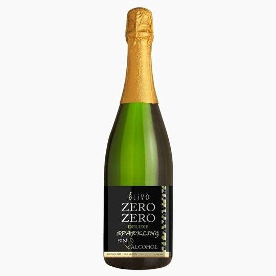 Elivo Zero Zero Deluxe, безалкогольное белое игристое вино, 0.75 л.