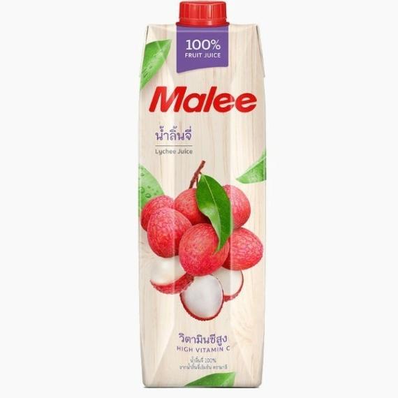 Malee, сок личи 100%, 1.0 л.