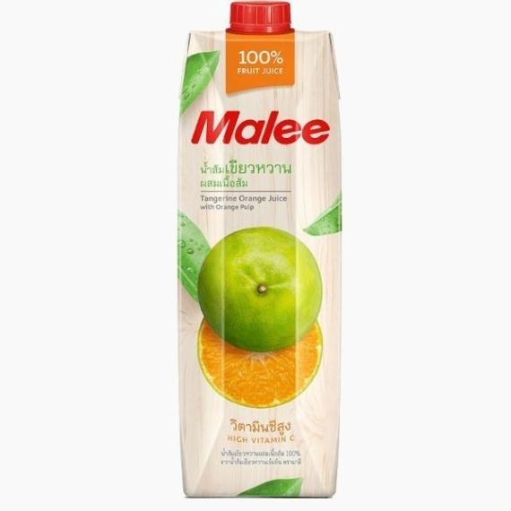 malee sok mandarina s mjakotju 1.0 l