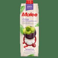 Malee, сок мангустин, гранат и красный виноград, 1.0 л.