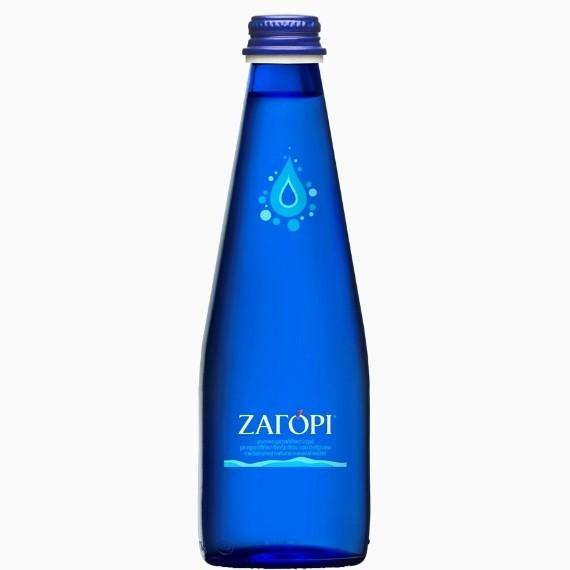 Минеральная вода Zagori, с газом, 0.33 л