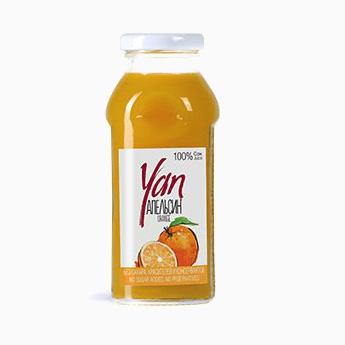 Сок Yan, апельсин, 0.25 л