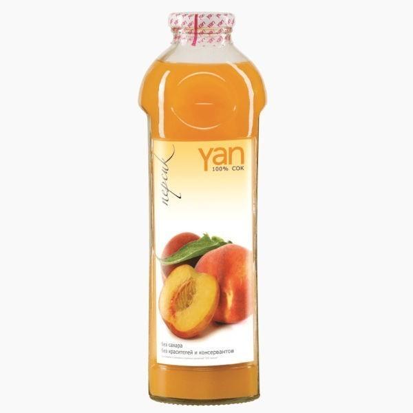 "Сок ""Yan"", персик, 0.93 л."