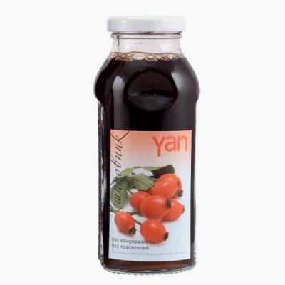 """Сок """"Yan"""", шиповник, 0.25 л."""