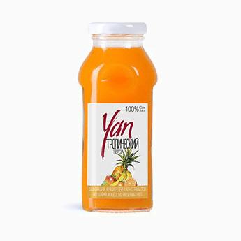 Сок Yan, тропический, 0.25 л