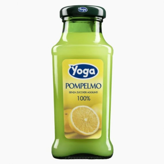 Сок Yoga, грейпфрутовый, 0.2 л.