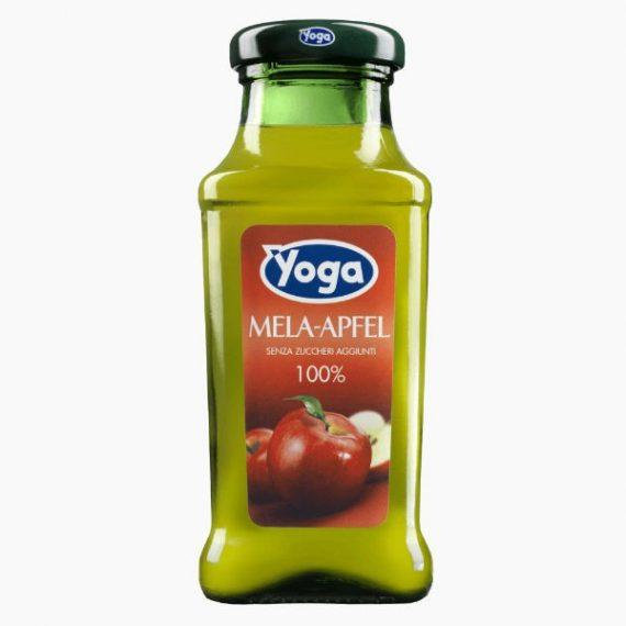 Сок Yoga, яблочный осветленный, 0.2 л.