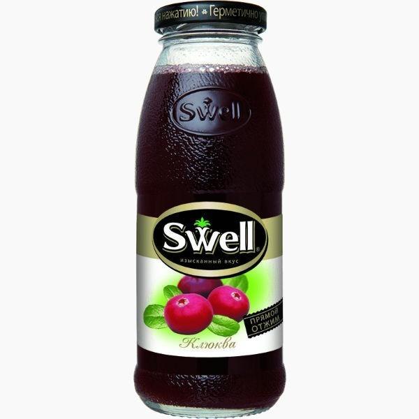 Swell, нектар клюквенный, 0.25 л.