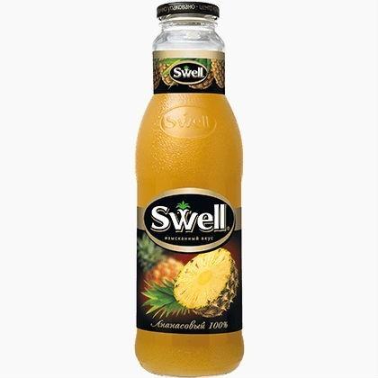 swell sok ananasa 0.75 l.