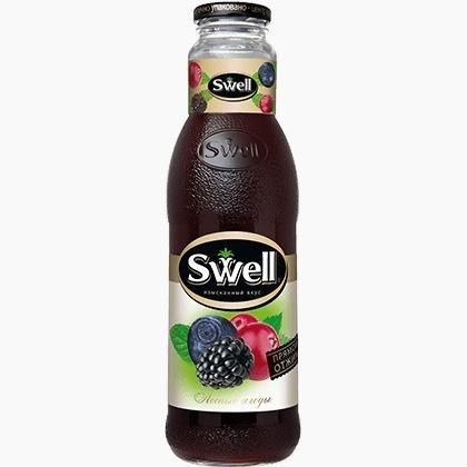 swell sok lesnyh jagod 0.75 l.