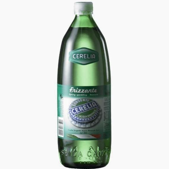 voda cerelia frizzante gazirovannaja 1.0 l