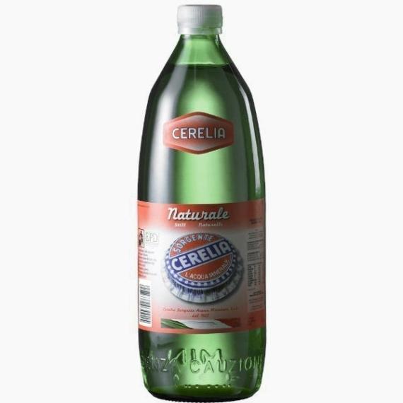 Вода Cerelia Natural, негазированная, 1.0 л.