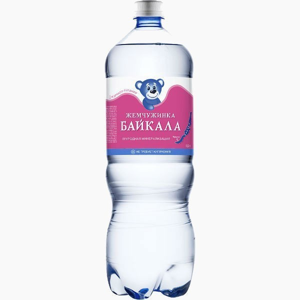 voda zhemchuzhinka bajkala bez gaza 1.5 l. 1