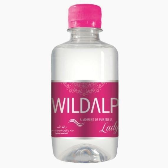 wildalp rozovaja butylka voda bez gaza 250 ml
