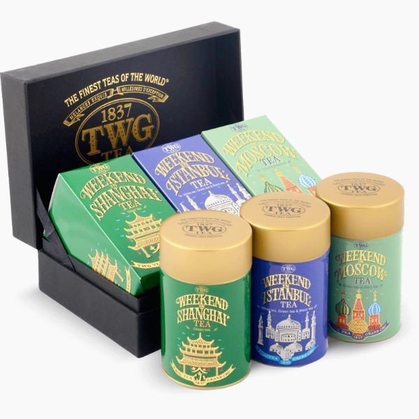 Набор чая TWG Weekend Trio Tea, 150 г.
