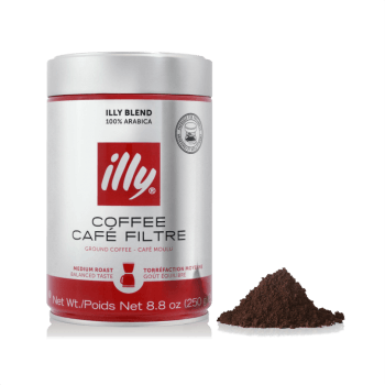 Кофе молотый ILLY Ground Drip Medium Roast, 250 гр.