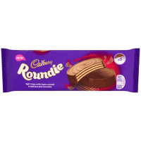 Шоколадные вафли Cadbury Roundies Milk Chocolate Wafer, 150 г.