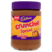 Шоколадная паста Cadbury Crunchie Chocolate Spread, 400 г.