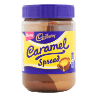 Шоколадная паста Cadbury Caramel Chocolate Spread, 400 г.