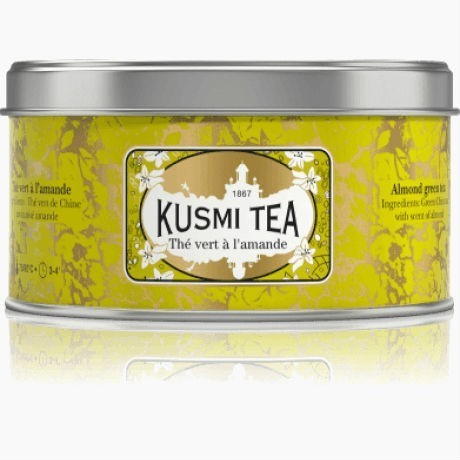 Чай Kusmi Almond Green Tea, 125 г.