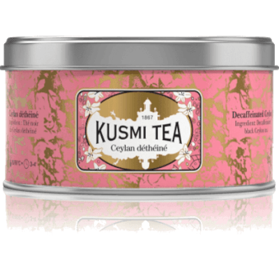 Чай Kusmi Decaffeinnated Ceylon, 125 г.