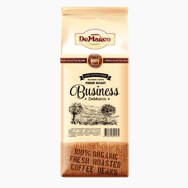 Кофе в зернах De Marco Fresh Roast Business, 1.0 кг.