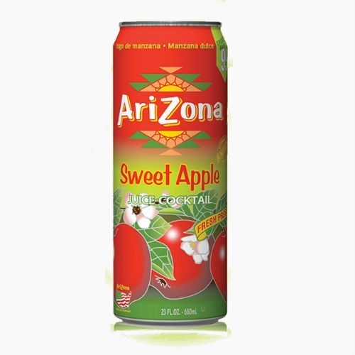 Напиток Arizona Sweet Apple, (Яблоко), 0.68 л