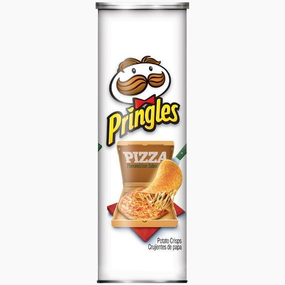 chipsy pringles pizza 158 g