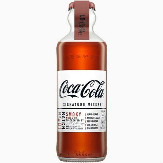 Напиток Coca-Cola Signature Mixers Smoky Notes, 0.2 л