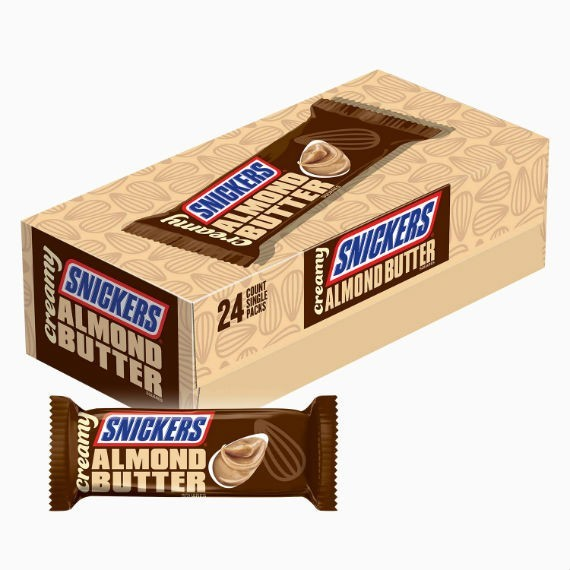 batonchik snickers almond up