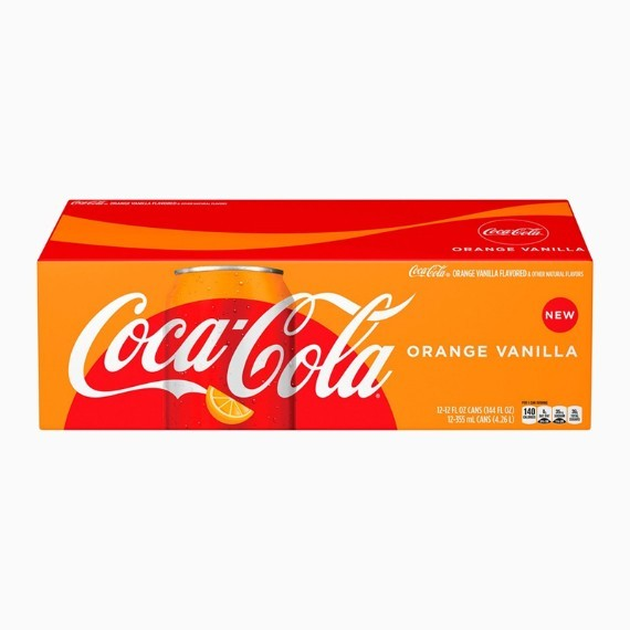 gazirovannyj napitok coca cola orange vanilla