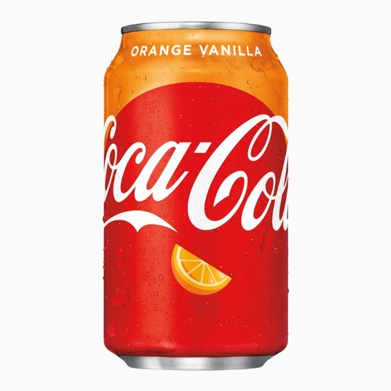 gazirovannyj napitok coca cola orange vanilla 0.355 l