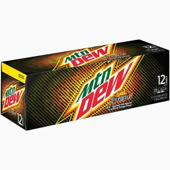 Напиток Mountain Dew Live Wire, 0.355 мл