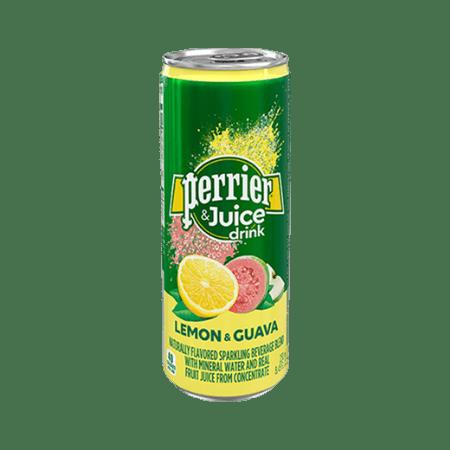 Perrier Lemon & Guava, вода газированная, 0.25 л