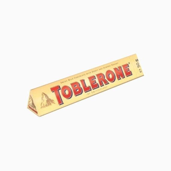 Шоколад Toblerone, 50 г (в индивидуальной упаковке)