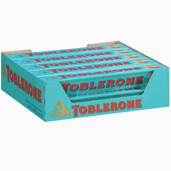 toblerone almond crunhy up