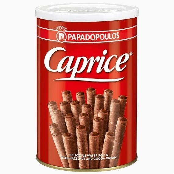 Вафли венские с фундуком и шоколадным кремом Caprise, 115 г