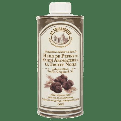 La Tourangelle Black Truffle Flavoured Grapeseed Oil, масло с ароматом черного трюфеля, 250 мл